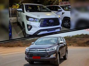 Toyota Innova Crysta 28-litre vs 24-litre Automatic Performance And Fuel Efficiency Compared