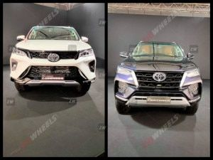 Toyota Fortuner Facelift Launch Tomorrow Standard vs Legender Variant Compared