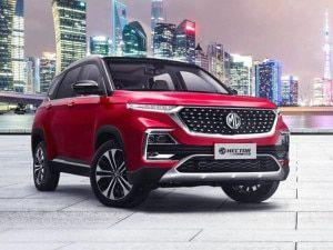 Facelifted MG Hector 2021 Detailed Image Gallery