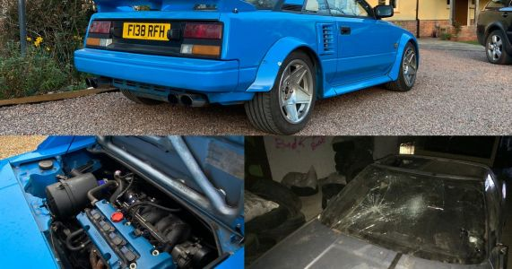 How This AW11 Toyota MR2 Went From Wreck To K20-Swapped Riches