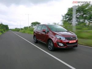 Mahindra Marazzo MPV Spied Testing With Automatic Transmission
