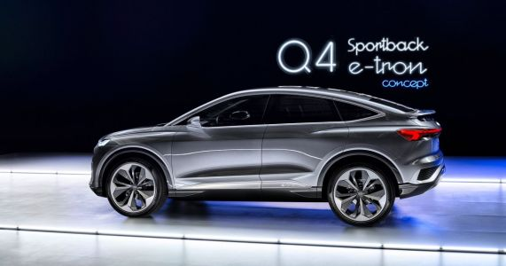 The Audi Q4 Sportback E-Tron Concept Is Futuristic And Weirdly Cute