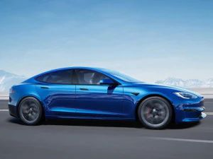 Jay Leno Breaks Production Quarter Mile Record With The Tesla Model S Plaid