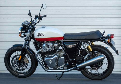 2020 Royal Enfield INT650 MC Commute Review Photo Gallery