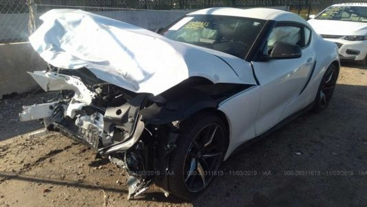 New Supra Wrecked After Less Than 1,000km