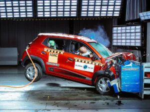 Made-In-India Renault Kwid Facelift Scores Two Stars In Global NCAP Safety Tests