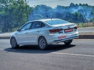 Volkswagen Virtus Spotted Testing Again Will Pave The Way For Vento Successor
