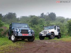 Mahindra Thar Comparison Review Old vs New