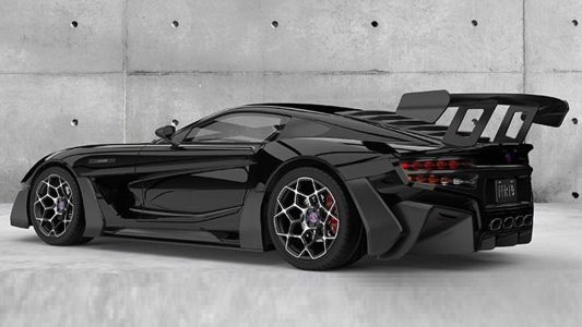 Factory Five F9R Concept Packs A Huge 9.8-Litre V12