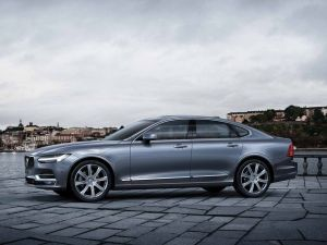 Volvo S90 T8 Plug-In Hybrid Sedan Is Official Car Of Swedish Ambassador To India