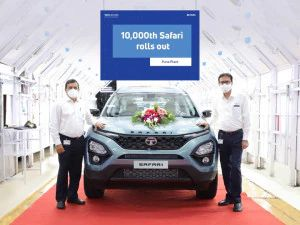 2021 Tata Safari Crosses 10000 Production Units Within Five Months Of Launch