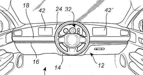 Volvo Has Filed A Patent For A Sliding, LHD/RHD Steering Wheel