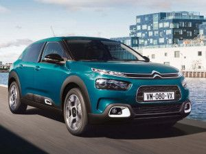 Citroen Will Unveil The C4 Cactus Crossover Electric Vehicle In 2020 In Europe