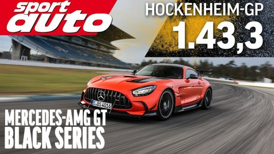 Mercedes-AMG GT Black Series Beats Ferrari 488 Pista and McLaren 720S at Hockenheim