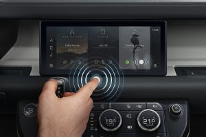 Jaguar Land Rover Introduces A New Contactless Touchscreen Technology That Helps Reduce Spread Of Viruses And Bacteria