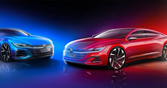 An Updated VW Arteon With A Light-Up Grille Is Coming, Joined By A Wagon Version