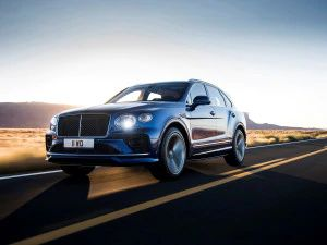 Bentley Bentayga Speed Variant Debuts Fastest SUV In The World With A 306kmph Top Speed