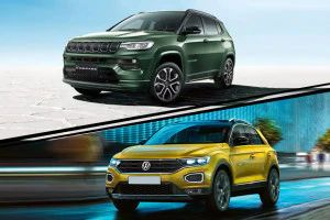 2021 Jeep Compass vs Volkswagen T-ROC Real World Performance And Fuel Efficiency Compared