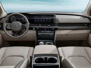2021 Kia Carnival Interior Revealed India Launch Expected In 2022