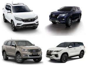 Toyota Fortuner 2020 vs Ford Endeavour vs Mahindra Alturas vs Fortuner BS6 Diesel Engine Specifications Compared
