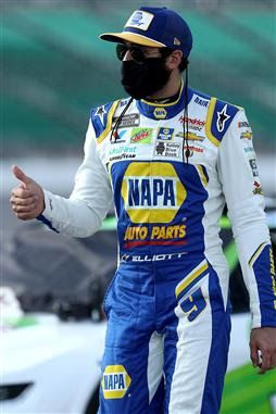 Chase Elliott is 10/1 to win 2020 Hollywood Casino 400 at Kansas