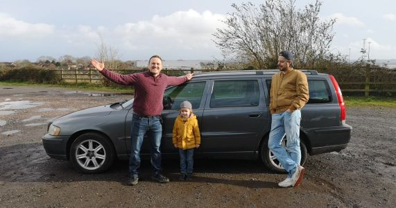 Buying A £1 Volvo (And The Coolest 4-Year-Old You'll Ever See)