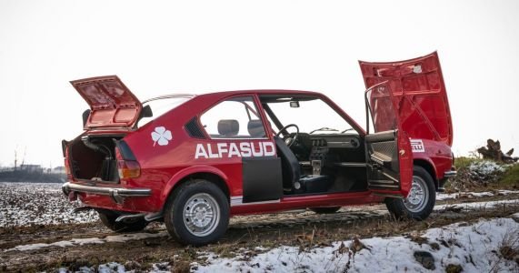 That Time When Alfa Romeo Built A Twin-Engined 4WD Rally Concept