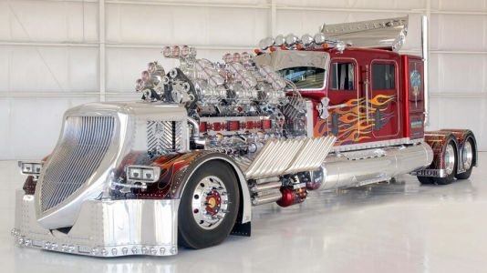 3,424 HP Twin V12 THOR Truck With 12 Superchargers Sold For R177 Million