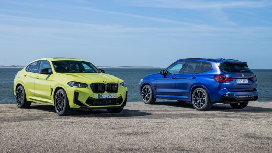 Refreshed BMW X3 M Competition and X4 M Competition Revealed