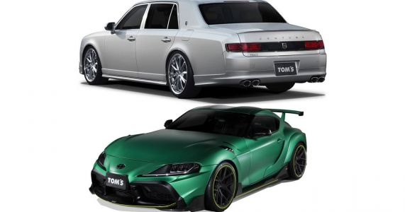 TOM'S Supra And TOM'S Century Launched: Two Car Garage, Anyone?