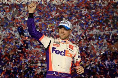 Denny Hamlin is 20/1 to win 2020 Auto Club 400 at Fontana