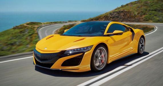 You Can Now Order A Honda NSX In A Classic First-Gen Colour