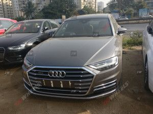 2020 Audi A8L Spied In India Ahead Of February 3 Launch Rivals The Mercedes-Benz S-Class and BMW 7 Series