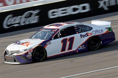Denny Hamlin is 6/1 to win 2021 Pennzoil 400 at Las Vegas