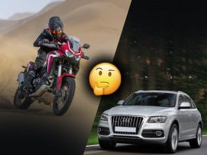Would You Rather Buy A New Honda Africa Twin CRF1100L DCT Or An Used Audi Q5