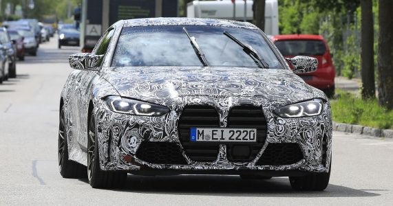 Next-Gen BMW M4 Loses Camo, Reveals Its Giant Grilles