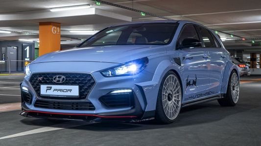 Hyundai i30 N Given Prior Design Widebody Kit, Looks Ready to Rally