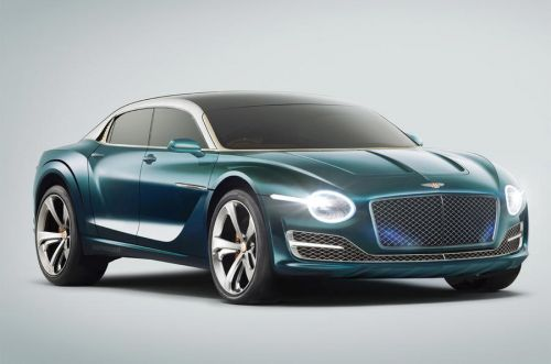 First Bentley EV To Be High-Riding Sedan Says Report
