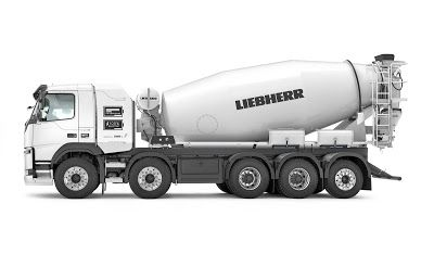 Liebherr Launch First Fully Electric Concrete Mixer Truck