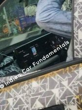 2021 Mahindra XUV500 Floating Digital Display Spied In Action India Launch By Early 2021