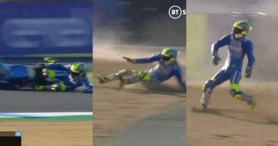 Here's How You Style Out A Motorbike Crash