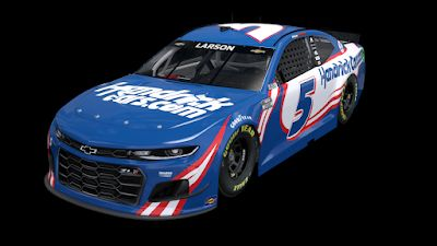 Kyle Larson is 10/1 to win 2021 Pennzoil 400 at Las Vegas