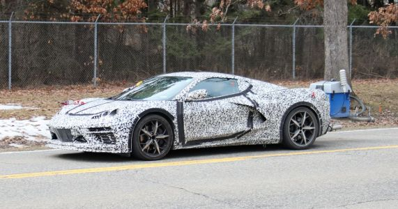 Is This A Plug-In Hybrid C8 Chevrolet Corvette?