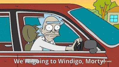 A Tim's Top Gear Rick & Morty Themed Travel Challenge: We're going to Windigo, Morty!