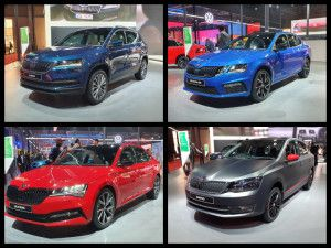 Skoda India At Auto Expo 2020 Octavia RS245 Launched Karoq Superb Facelift Kodiaq TSI and Rapid BS6 Unveiled
