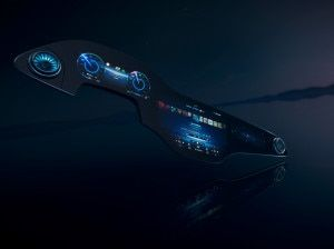 Mercedes-Benz MBUX Hyperscreen Unveiled Its Curved Ultra-wide and 56-inches Big