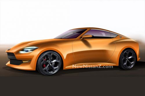 Nissan 400Z Takes Shape With Renderings After Teaser Shown