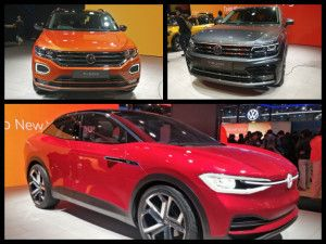Volkswagen At Auto Expo 2020 T-ROC Tiguan Allspace IDCrozz Race Polo Unveiled Taigun Showcased