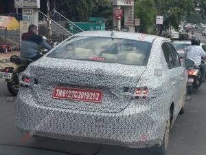 2020 Honda City Spied Testing In India Ahead Of Global Reveal
