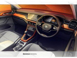 Production-spec Skoda Kushaq Interior Previewed Ahead Of March 18 Global Premiere